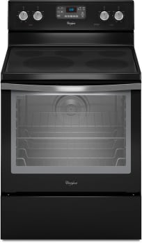 Whirlpool WFE540H0AE - Black with Silver Handle