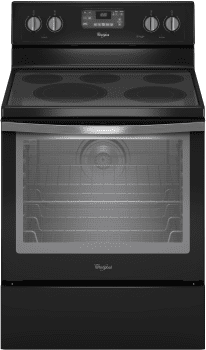 Whirlpool WFE540H0EE - Black Ice Front View
