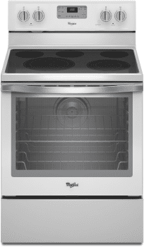 Whirlpool WFE540H0EH - White Ice Front View