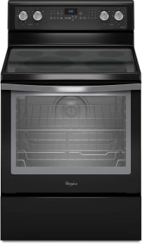 Whirlpool Gold Black Ice WFE710H0AE - Black with Silver Handle