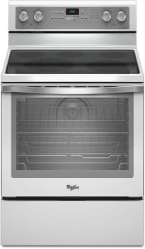 Whirlpool Gold White Ice WFE710H0AH - White with Silver Handle