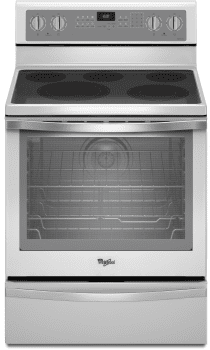 Whirlpool WFE715H0EH - White Front View