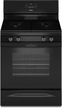 Whirlpool WFG515S0EB - Black Front View