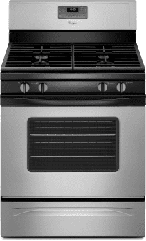 Whirlpool WFG515S0ED - Silver Front View