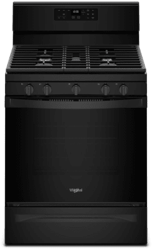 Whirlpool WFG525S0HB - Black Front View