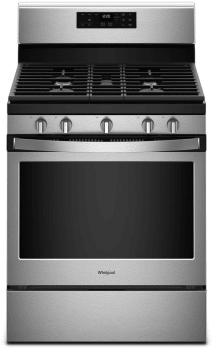 Whirlpool WFG525S0HS - Black-on-Stainless Steel Front