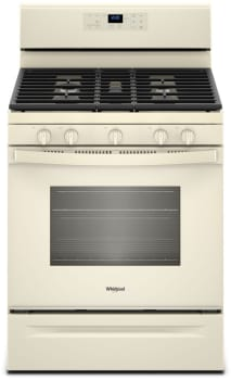 Whirlpool WFG525S0HT - Biscuit-on-Biscuit Front View