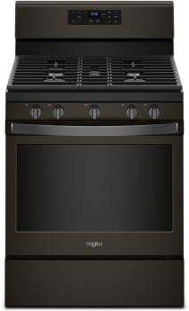 Whirlpool WFG525S0HV - Black Stainless Steel Front