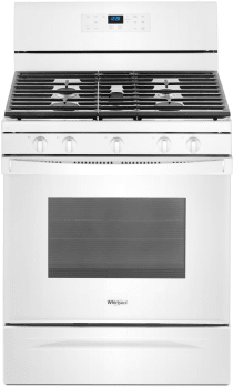 Whirlpool WFG525S0HW - White Front View