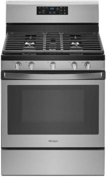 Whirlpool WFG525S0HZ - Fingerprint Resistant Stainless Steel Front