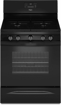 Whirlpool WFG530S0EB - Black Front View