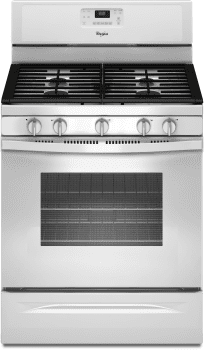 Whirlpool WFG530S0EW - White Front View