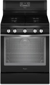 Whirlpool WFG540H0EE - Black Ice Front View