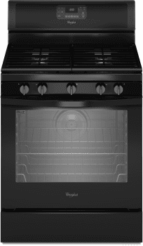 Whirlpool WFG540H0EB - Black Front View