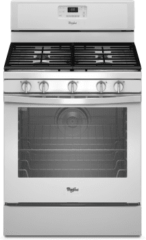 Whirlpool WFG540H0EW - White Front View