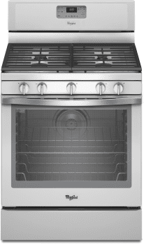 Whirlpool WFG540H0EH - White Ice Front View