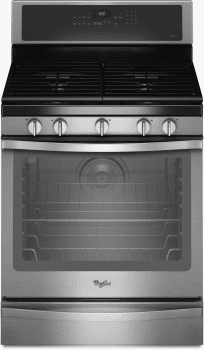 Whirlpool WFG715H0E - Stainless Steel Front View