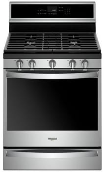 Whirlpool WFG975H0HZ - Stainless Steel Front View