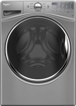 "Whirlpool WFW90HEFC - 27"" 4.5 cu. ft. ENERGY STAR Front Load Washer in Chrome Shadow"