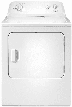 Whirlpool WGD4616FW 29 Inch Gas Dryer with 7.0 cu. ft. Capacity ...