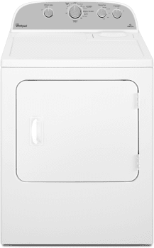 Whirlpool WGD4975EW - Front View