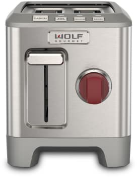 Wolf Gourmet WGTR102S - Wolf Gourmet 2-Slice Countertop Toaster