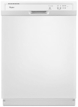 Whirlpool WDF121PAFW - Full Console Dishwasher in White from Whirlpool