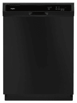 Whirlpool WDF130PAHB - Front View Black