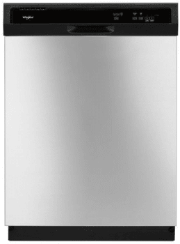 Whirlpool WDF130PAHS - Front View Stainless Steel