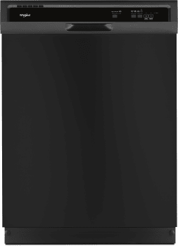 Whirlpool WDF330PAHB - Front View Black