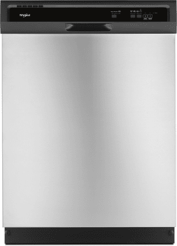Whirlpool WDF330PAH - Front View Stainless Steel