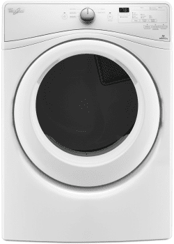 Whirlpool Duet WED75HEFW - Gas Dryer with Quick Dry Cycle