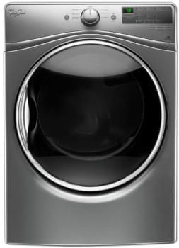 Whirlpool WED85HEF - Electric Dryer from Whirlpool in Chrome Shadow