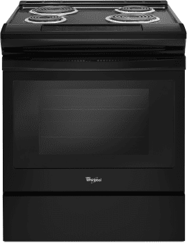 Whirlpool WEC310S0FB - Electric Range in Black from Whirlpool