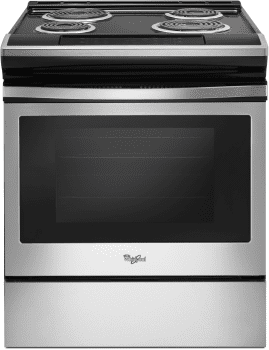 Whirlpool WEC310S0FS - Electric Range in Stainless Steel from Whirlpool