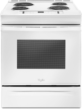 Whirlpool WEC310S0FW - Electric Range in White from Whirlpool