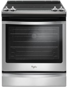 Whirlpool WEE745H0F - Black-on-Stainless