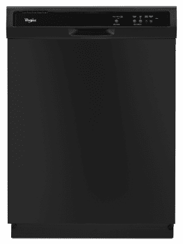 Whirlpool WDF120PAFB - Full Console Dishwasher from Maytag in Black Finish