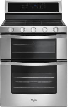 Whirlpool WGG745S0FS - Stainless Steel Front View