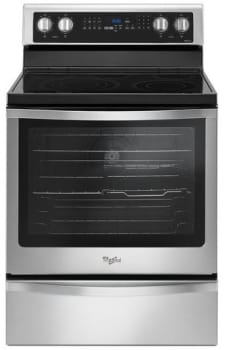 Whirlpool WFE745H0FS - Black-on-Stainless