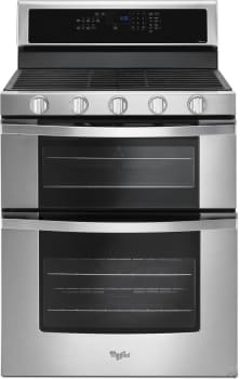 Whirlpool WGG745S0F - Stainless Steel Front View