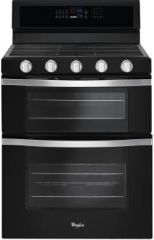Whirlpool WGG745S0FE - Black Ice Front View