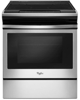 Whirlpool WEE510S0FS - Slide-In Electric Range from Whirlpool
