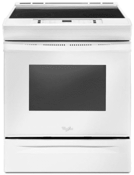 Whirlpool WEE510S0FW - Slide-In Electric Range from Whirlpool
