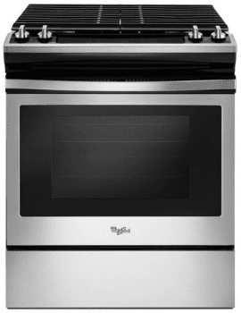 Whirlpool WEG515S0FS - Slide-In Gas Range from Whirlpool
