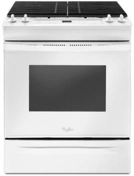 Whirlpool WEG515S0FW - Slide-In Gas Range from Whirlpool