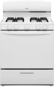Amana AGR4230BAW - White Front View