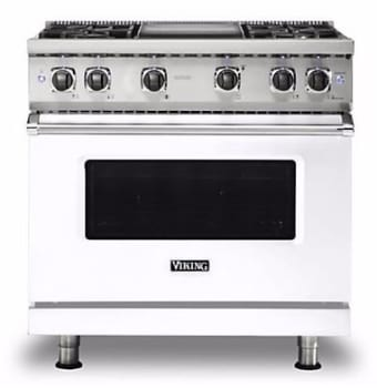 Viking Professional 5 Series VGR5366BWH - Griddle Not Included