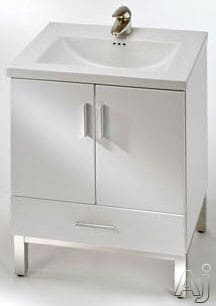 Empire Industries Daytona Collection WD2F2420WGP - White Gloss, Polished Finish