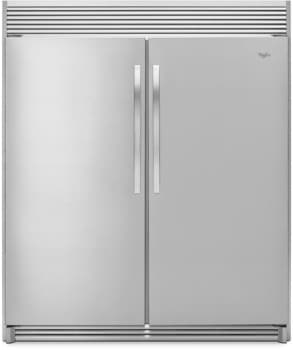Whirlpool Whrefr1 Side By Side Column Refrigerator